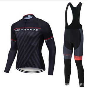 Cycling jersey suit bike long-sleeved shirt set suspenders trousers bicycle clothing TEAM CYCLING winter bike clothing