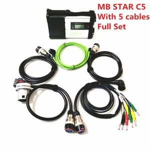 2020 Best MB SD Star C5 SD Connect Compact 5 Star Diagnosis with WIFI For Cars and Trucks Multi-Langauge fast shipping