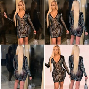 Xnf mujer diseñador largo rosa ahueca hacia fuera Twoset Sleeve Blush Dos top Top Pass Dress Sexy Closed Pie Falkies Sexy Twodresses Street Style