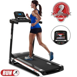 UK STOCK Electric Treadmill Folding Running Machine Digital Control 12.8km h 15 Programmes Portable Gym Equipment MS188830BAA