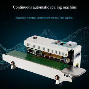 Machine de cachetage automatique en continu Film composite d'emballage sac en plastique et la machine d'étanchéité