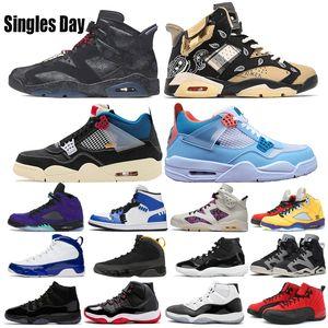 3s Frauen-Basketball-Schuhe 6s Singles Day 13s Bio Hack Schwestern Herren Schuhe Bred 11s Cap und Kleid Travis Scotts 14s UNC-Turnschuhe