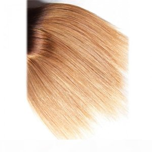 hair series virgin human hair 3 bundles t1b 4 27 ombre straight hair with lace closure