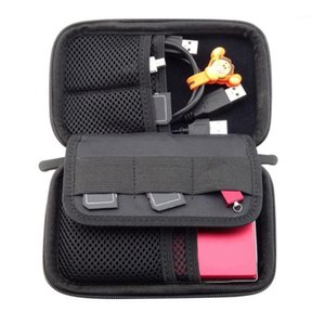 مكافحة الملحقات الرقمية المحمولة أكياس تخزين المنتج الإلكترونية القرص الصلب منظم التخزين حمل حقيبة الحقيبة