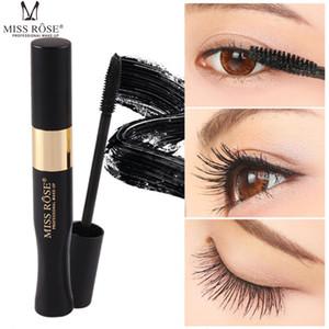 MISS ROSE New Waterproof Eyelash Fluffy Volume Mascara Makeup Lash Mascara for Thickening Lengthening Curling Mascara 0243