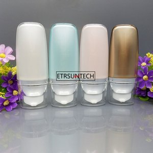50 unids 30 ml 50 ml botella sin aire cosmética suave lavado crema empaquetado vacío bb suncream squeeze tubo f2567good qualtitygoodgood