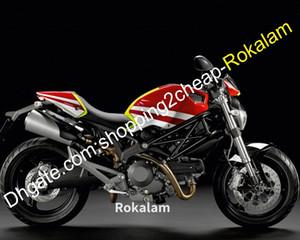 For Ducati 696 796 795 M1000 2009 2013 M1100 09-13 Motorbike Bodywork Motorcycle Fairing Kit (Injection molding)