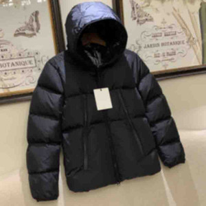 20FW Classic Winter Down Jacket Bothside Letters Men Windproof Warm Solid Down Coat Women Streetwear Homme Fashion Outdoor Outwear