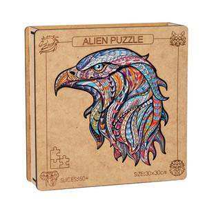 7 نمط 3d خشبية حيوانات ستيريو بانوراما الألغاز تجميع شذوذ الحيوانات الألغاز الألغاز لعب البالغين الأطفال بحر الشحن LLA330