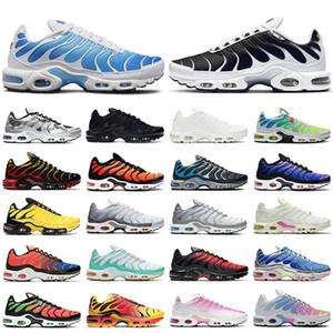 Tn  plus shoes uomo donna scarpe da corsa scarpe da ginnastica moda triple nero bianco Hyper Sky Blue Supernova Sail Digital Pink sneakers sportive da uomo outdoor