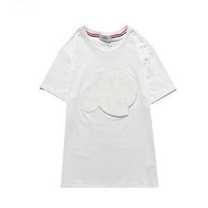 Monclair Rahat Mayo T Shirt Stilisti Yüksek Bir Maya Kısa APE Erkek Kalite CP T-Shirt Kollu Topstoney Yaz CKHUE