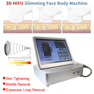 Face lifting wrinkle removal HIFU machine 3d ultrasound hifu skin tightening machine face lifting beauty equipment