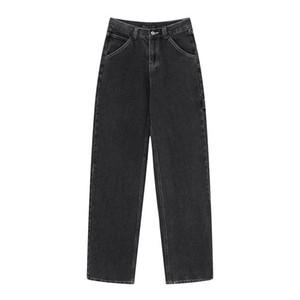 UNUTH ragazze sottili jeans neri 2020 pantaloni delle signore di modo annata bomba denim Streetwear donne eleganti dei jeans