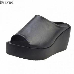 Womens Sandals Summer 2020 New Wedge Heels Platform Large Size Fashion Wild Fish Mouth Sandals jmy9#