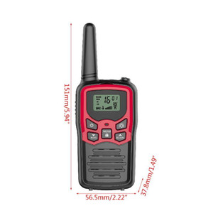 Walkie Talkies for Adults Long Range 6 Pack 2-Way Radios Up to 5 Miles Range in XXUC