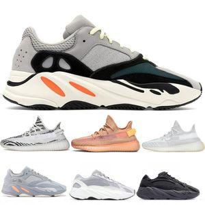 2020 700 Dalga Runner Leylak Kanye West Dalga Statik ayakkabı erkekler Kadınlar Siyah Beyaz Mavi Gri Spor Tasarımcı Atletizm Sneaker