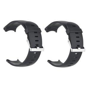 2x deportes reloj de correa del cinturón y la hebilla de Garmin Approach S3 Negro
