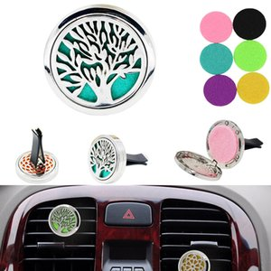 Stainless Steel Aromatherapy Inlet Perfume Clip Air Purification Creative Car Decoration Accessories BH1799 CY