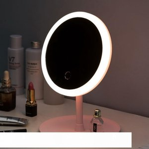 Makeup Backlit Mirror Light With Natural White LED Vanity Mirror Detachable Storage Base 3 Modes To espelho lustro LD CX200630