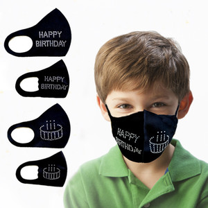 New Style Fashion Masquerade Masks Veil Decoration Club Mask Bling Bling Glitter Face Dust Cover Party Mask Happy Birthday Adult Kid Masks