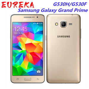 Reformado Original Desbloqueado Samsung Galaxy Grand Prime G530H / G530F 5.0inch Quad Núcleo 1GB RAM + 8GB Rom Dual SIM Telefone Android