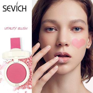 6 Colors Face Mineral Pigment Blusher Blush Powder Highlight Brozer Cosmestics Professional Palette Blush Contour Shadow