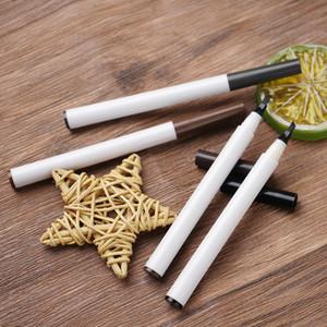 VMAE su misura Etichetta privata Skinny 4-fork Trucco Brow Tinta Penna Bianco Colore Bianco 4 Testa Forcella Tip Vegan Microblading Matita per sopracciglia