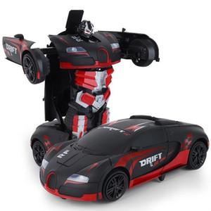 Super grand déformation des enfants Télécommande King King Kong Robot garçon garçon fille jouet voiture