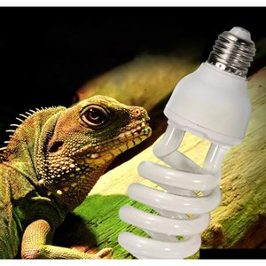 220v-240v reptile light bulb 5.0 10.0 uvb 13w reptile light bulb uv lamp vivarium terrarium snake pet heating bJzgP