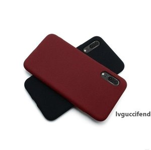 Silicone Soft TPU Matte Case for Huawei P20 P10 Lite P20 Pro P30 P9 P8 Lite Case Cell-Phone Cover