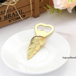 Starfish Conch Brewers Shellfish Bottle Opener Keepsake Business Affairs Metal Carving Corkscrew For Wedding Party Souvenir 3 8lw UU