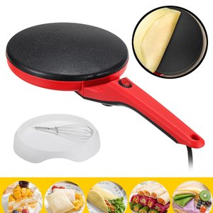 Household Non-Stick Crepe Maker Pan Electric Pancake Cake Machine Frying Griddle Portable Kitchen Baking Tools 220V 600W