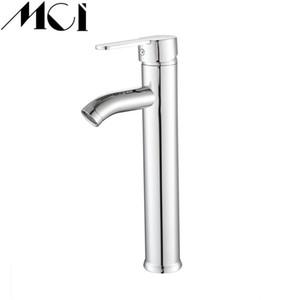Krom Banyo Havzası Musluk Paslanmaz Çelik Havzası Mikser dokunun Banyo Lavabo Mikser dokunun Ev Dekorasyonu Mci