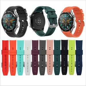 Replaceable Watchbands for HUAWEI WATCH GT 2 46mm GT Active 46mm HONOR Magic Silicone Strap Band GT2 Official style Bracelet