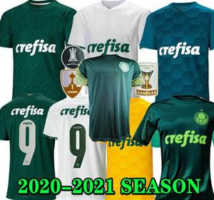 2020 2021 SE Palmeiras Soccer Jerseys Palmeiras Felipe Melo Dudu Borja Accueil 3ème Formation 20 21 Football Hommes Shirt Femme and Kids