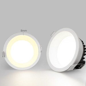 New led downlight anti-glare ceiling lamp,5W7W9W12W led spot lighting bedroom kitchen , built-in downlight for aisle hotel home KHY-d60