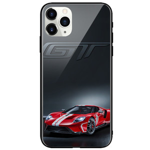 Super Car phone cases Tempered glass series Phone Back Cover for Samsung s20 iphone 12 mini 11 pro max Galaxy s9 s10 Plus s20 s10+ cases