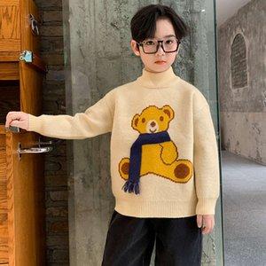 Sweater Boys 'New 2020 Otoño Pullover y espesado Cuhk Fashion Fashion Fashion Winter Cloth Boys C884