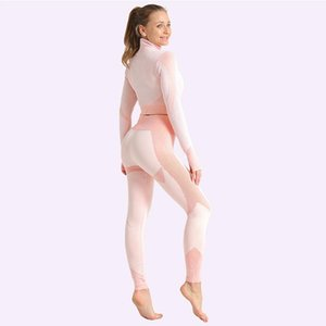 Women's zipper seamless slim yoga clothes knitted jacquard bulifting fitness tight pants set sports yoga suit female