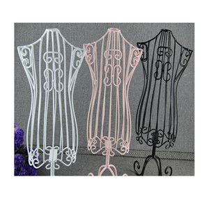 New Pet Clothes Hanger Display Holder Torsos Doll Dress Forms Mannequin Stand Base Metal Vintage Cat Product-w bbygyv