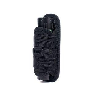 Taschenlampe Beutel Gürtel hängend Tactical Bag Outdoor Jagd Camping Angelausrüstung Drehbare 360 Grad Taschenlampe Holster
