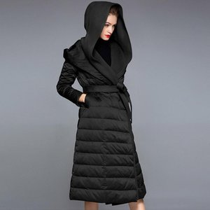 2021 fashionable women's long down jacket fashion jacket and large size winter new listing high-end luxury ladies