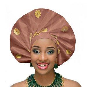 African sego headtie new turban aso oke gele fashion african headwraps 201021