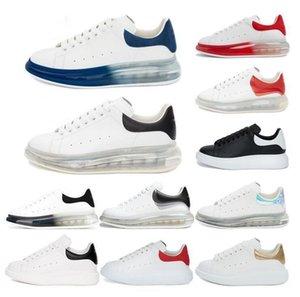 Mit Box Top-Qualität 2020 Männer FrauenAlexandermcqueen McQueens Blcak Velet Sneakers Weiß Leder-Plattform-Schuh-flache Im Freien i4ih #