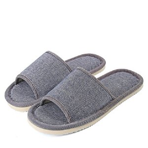 2021 Men Women Home Indoor Slippers Flip Flops Soft Plush Warm Winter Casual House Shoes Sandals Male Anti Skid Furry Bedroom Slippers 36-45