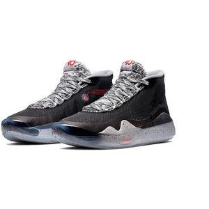 2019 Sıcak değerli oyuncu Kevin Durant KD 12 Yıldönümü Üniversitesi 12S XII Oreo Erkekler Basketbol Ayakkabı ABD Elite KD12 Üst Sport Sneakers