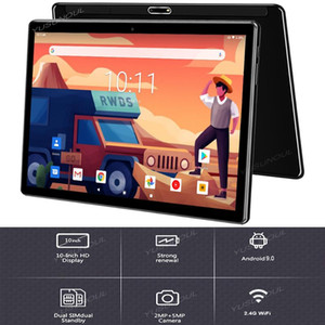 """2020 Best-selling 10 inch 3G Phone Call Tablet Pc Android 9.0 Quad Core Google Play 32GB ROM Dual SIM Cards WiFi Tablets 10.1"""""""