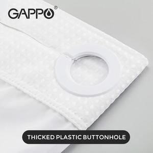 Cortina de baño Gappo Cortinas de ducha impermeable Conjunto de cortinas de ducha 201128