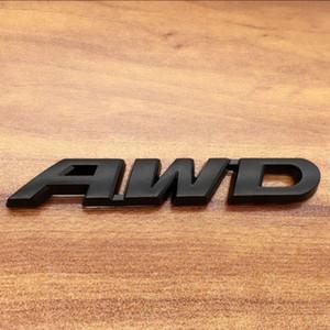 1ps 3D Métal autocollant de voiture autocollant de corps autocollant Emblème Badge à quatre roues motrices autocollants autocollants de voiture pour Honda AWD CRV CROSSTORE V6