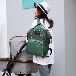 Star Sky Print Mommy Maternity Backpacks Nylon Nursing Baby Nappy Bags